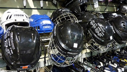 New and Consignment Hockey Helmets