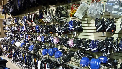New and Consignment Hockey Gloves