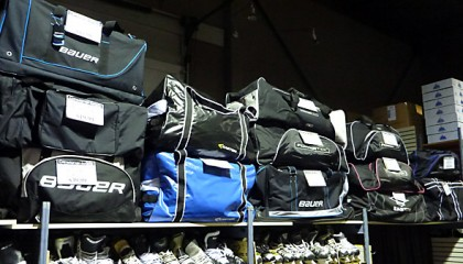 Consignment and New Hockey Bags