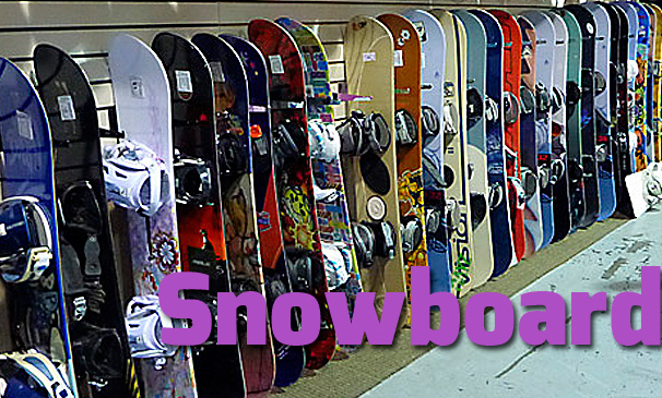 Snowboards – New and Used